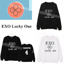 Kpop EXO EX'ACT Sweater Unisex Chanyeol Hoodie Pullover [Lucky One]Sweat... - $13.99
