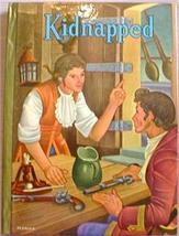 VG Classic Book Whitman KIDNAPPED Robert L Stevenson - $5.00