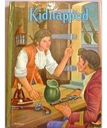 VG Classic Book Whitman KIDNAPPED Robert L Stevenson - $5.00