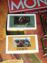 Lord Of The Rings Trilogy Collectors Edition Monopoly Game Events & Peop... - $14.01
