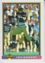 Eric Bieniemy 1991 Bowman Card #468 - $0.99