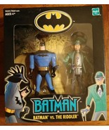 HASBRO 2001 WAL-MART EXCLUSIVE SPECIAL EDITION BATMAN VS THE RIDDLER NEW... - $14.50