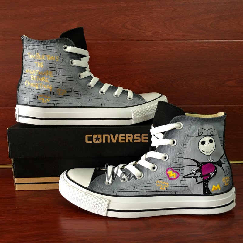 christmas canvas shoes