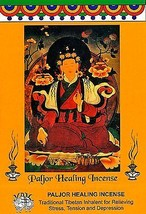 TIBETAN PALJOR HEALING INCENSE x5 Natural Aromatic Medicine Herbs Calm U... - $8.93