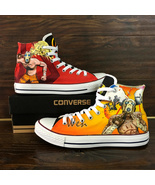 Borderlands 2 Design Hand Painted Converse All Star Canvas Shoes Unisex ... - $139.00+