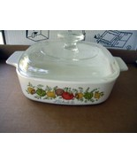 Corning Ware L'Echalote Casserole A-1-B 1 Quart with Pyrex Lid A7C - $13.49