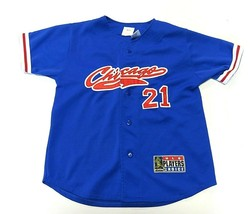 Sport Attack MLB Chicago Cubs Sammy Sosa #21 Baseball Jersey Youth Size Md - $34.60