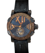 "Romain Jerome Titanic-DNA ""Ultimate"" Tourbillon. 120 Hour reserve. Limit... - ₹12,051,593.84 INR"