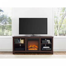 "Electric Fireplace TV Stand Media Console 60"" TVs  Espresso Entertainmen... - $344.92"