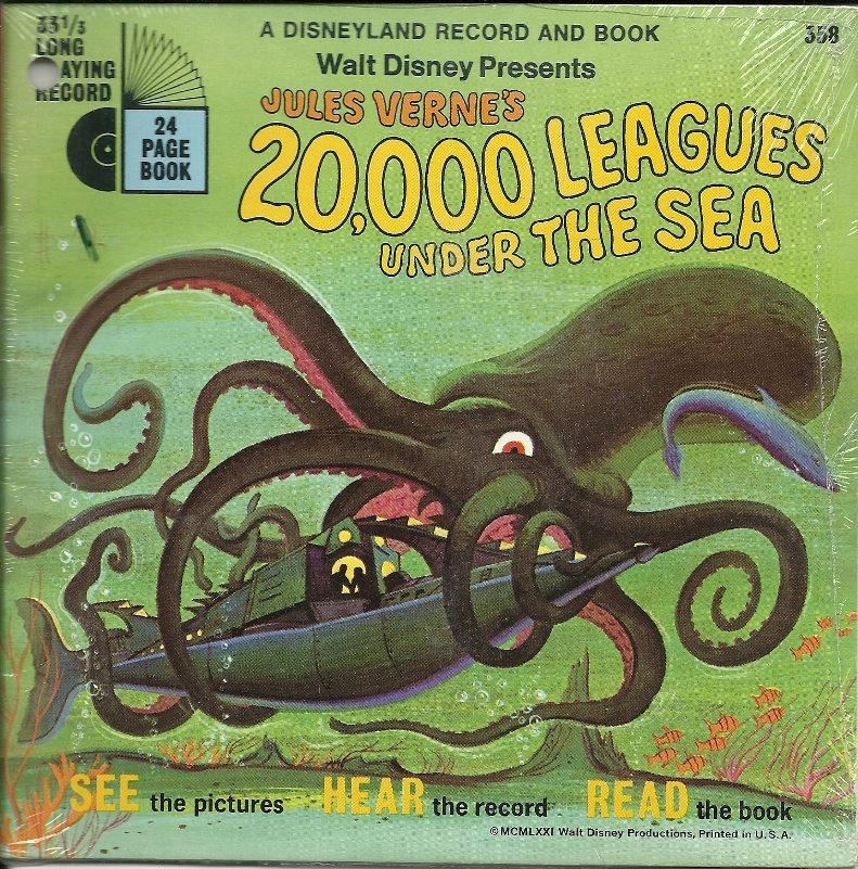 20000 leagues under the sea book and record