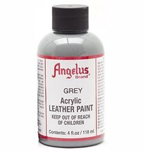 Angelus Leather Paint 4 Oz Grey - $5.07
