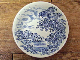Wedgwood Countryside Blue And White Dessert Bowls Set Of Four - $9.90
