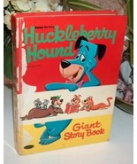 Vintage Huckleberry Hound Giant Story Book - $15.00