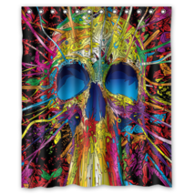 Psychedelic #46 Shower Curtain Waterproof Made From Polyester - $31.26+