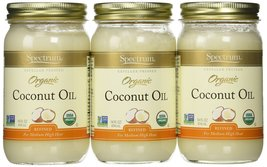 Spectrum Naturals Refined Coconut Oil 14 Oz -Pack of 3 - $38.17