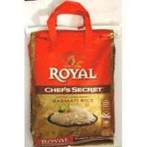 Royal Chef's Secret Extra Long Basmati Rice 20 Lb Bag - $49.95