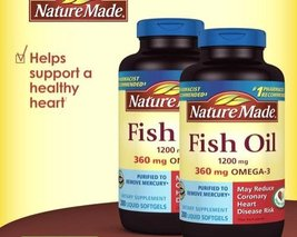 Nature Made Fish Oil 1200 mg 800 Count - Pack of 4 - $67.90