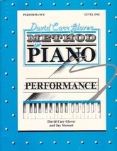 Glover Method for Piano  Performance Level 1 Solo Piano - $5.95