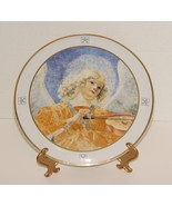 Vatican Museum Plate Angel Playing Violin 10.5 inch Plate - $14.90