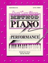 Glover Method for Piano Performance Level 3 - $5.95