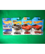 Hot Wheels In Original Package 4 Different Lot6 - $7.18