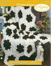 Needlecraft Shop Crochet Pattern 972043 Elegant Roses Afghan Collectors ... - $4.99