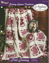 Needlecraft Shop Crochet Pattern 972042 Pink Fantasy Afghan Collectors S... - $4.99