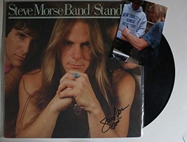"Steve Morse Signed Autographed ""Stand Up"" Record Album w/ Proof Photo - $49.49"