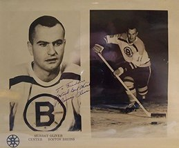 Murray Oliver Signed Autographed Vintage Glossy 'To Freddie' 8x10 Photo (Bost... - $19.79
