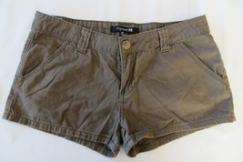 Junior Forever 21 Brown Cotton Shorts Size 28 - $4.99