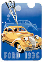 Ford, 1936 by Anon Vintage Advertising Art Print - $239.98