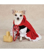 Lil' Red Riding Hood Dog Costume - $22.95+