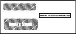 IRS Approved 1099 Double Window Envelope - $16.50+