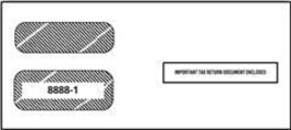 IRS Approved 1099 Double Window Envelope - $11.50+