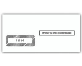 IRS Approved 1099 Single-Window Envelope - 3 7/8 x 8 1/4 - $11.50+