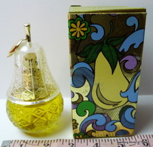 Avon Pear Lumiere Decanter Bottle  Bird of Paradise Cologne Mist - $10.32