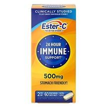 Ester-C Vitamin C, 500mg Tablets, 60-Count Bottles Pack of 2