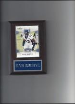 Elvis Dumvervil Plaque Denver Broncos Football Nfl # 92 - $0.01