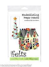 Handbeng Felts Embellishing Paper Mache Creative Fiber Art Pattern - $13.75