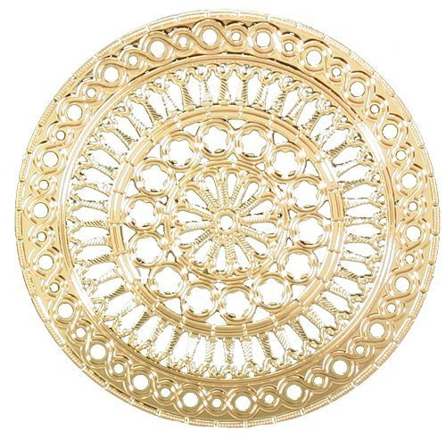 """Ebros Assisi Cathedral Rose Window Ornament 2.75""""Diameter"""