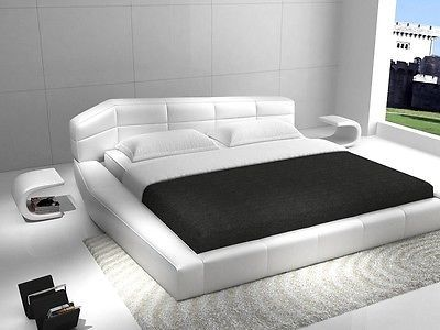 Dream King Size Platform Bed Contemporary Modern Style