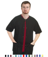 Men|Women Scrubs - Short Sleeve Warm-Up Scrub J... - $9.99