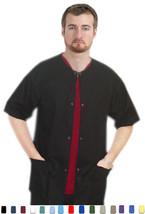Men|Women Scrubs - Short Sleeve Warm-Up Scrub Jacket - XL - New Bahamas Scrubs - $8.99