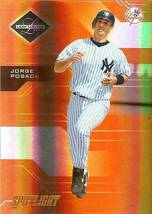 2005 leaf limited jorge posada ny yankees serial 5/99 baseball card - $5.99