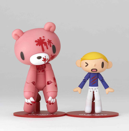 Revoltech Yamaguchi Series No. 072 Gloomy Bear Heavy Bloody Action Figure NEW!