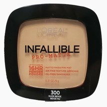 L'oreal Infallible Pro-Matte - Oil Free 16 HR Powder 300 Nude Beige - $7.59