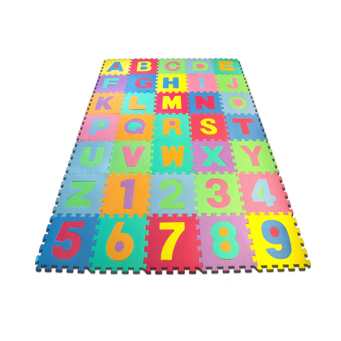 Alphabet And Number Floor Mat Mota Vate Alphabet Mat Foam