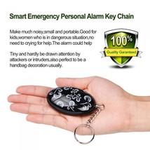 Personal Security Alarm Keychain Self Defense Anti-Attack120-130db Panic... - $14.95