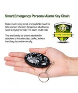 Personal Security Alarm Keychain Self Defense Anti-Attack120-130db Panic... - $14.95