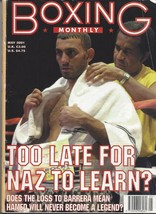 Prince Naseen Hamed Boxing Monthly May 2001 Magazine No Label Crease Top Right - $1.97